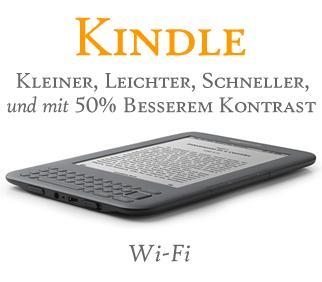 Kindle neuste Generation  Wireless Reader, Wi-Fi, graphit - bei Amazon.de bestellbar !!