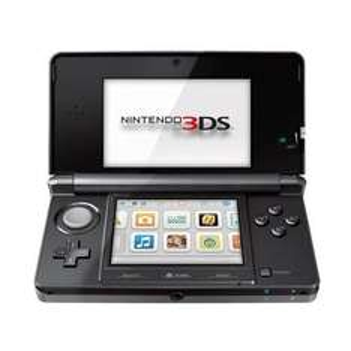 "Nintendo 3DS - Konsole Kosmos Schwarz für 116€ @Amazon WHD ""wie neu"""