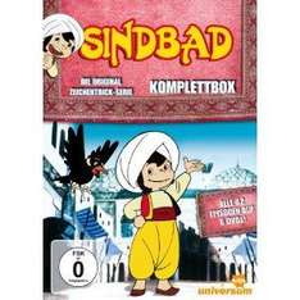 Amazon: Sindbad - Die Original Zeichentrick-Serie Komplettbox [6 DVDs]