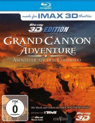 IMAX Grand Canyon Adventure Abenteuer auf dem Colorado 3D Blu-Ray  8.99€  (+ 1.99€ Versand)