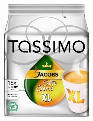Tassimo Jacobs Krönung Caffé Crema XL, 5er Pack (5 x 16 Port.) für 17,95 Euro im Spar-Abo (3,59 Euro pro Pack) @amazon.de