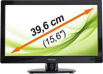 Medion LED-Backlight TV LIFE P12124 39,6cm (15,6) für 99€ statt 130€ (Idealo)