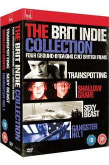 [play.com] The Brit Indie Collection (4 Discs) (Blu-ray) - Trainspotting, Shallow Grave, Sexy Beast und Gangster No.1 für 15.99€
