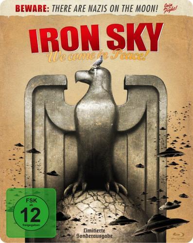Iron Sky - Wir kommen in Frieden! - Steelbook [Blu-ray] für 7,97