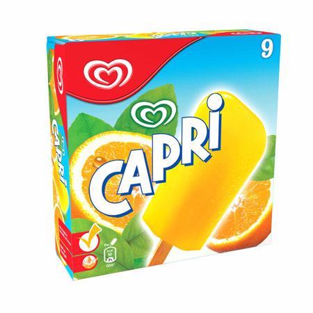 Kaufland (Hannover, ggf. bundesweit?): Langnese Eis-Multipackungen (Cuja Mara Split, Domino, Flutschfinger, Mini Twister, Capri, Mini Milk) je Packung nur 1,99 Euro