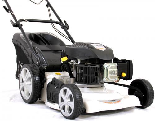 FUXTEC Benzin Rasenmäher mit 5,5 PS und Randantrieb für nur 239,- EUR inkl. Versand