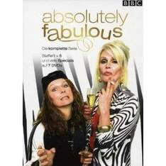 @Amazon; Absolutely Fabulous - Die komplette Serie (Season eins bis fünf - 7 DVDs) - Collector's Edition