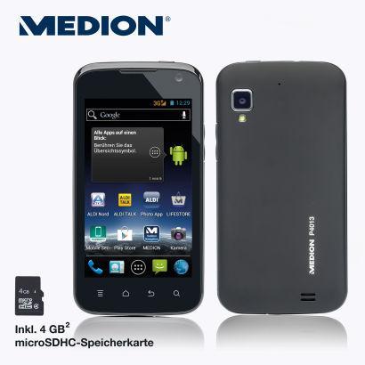 Aldi Nord: Medion Life P4013 Smartphone ab 10.06. für 129 Euro