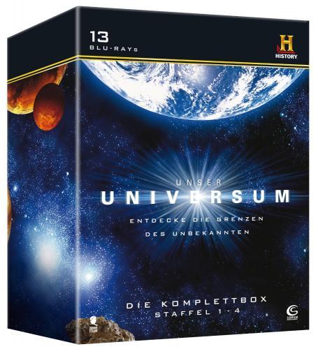 [Blu-ray] Unser Universum - Die Komplettbox, Staffel 1-4 (History) für 26,97 € @ Amazon