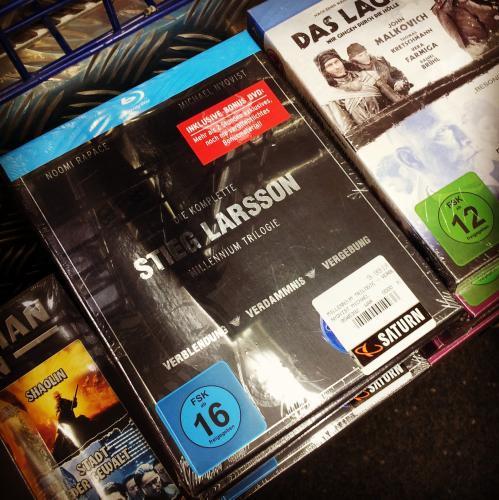 [Lokal: Saturn Dortmund, Leipzig, Leverkusen] Millennium Trilogie [Blu-ray]