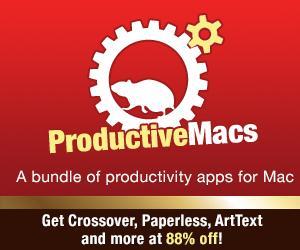 [MAC] Neues Bundle von ProductiveMacs - 9 Apps für 29,99$ bzw. 23,07€