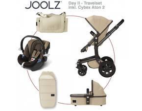 Joolz Day; Travelset inkl. Cybex Aton 2 - SAND für 1000,09 EUR incl. 9% Gutschein