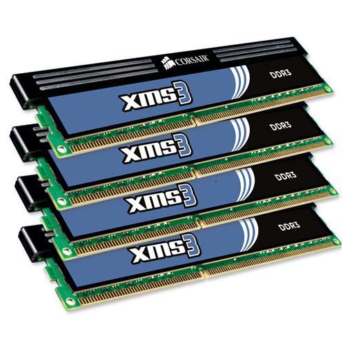 Arbeitsspeicher DDR3-1600 Corsair XMS3 DIMM Kit 8GB für nur 52,97 EUR inkl. Versand
