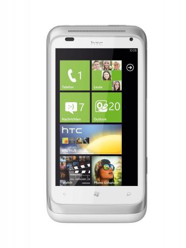 HTC Radar Smartphone in Silber für nur 129,99 EUR inkl. Versand