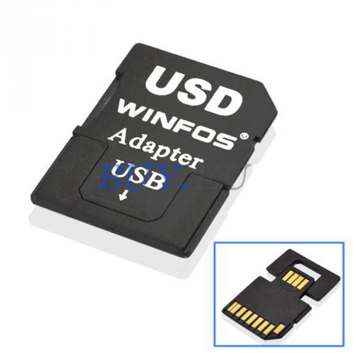 MicroSD Karten Adapter auf SD und USB