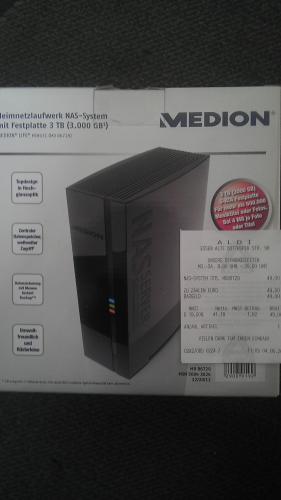 Heimnetzwerk Nas System mit 3 TB Festplatte Aldi Essen