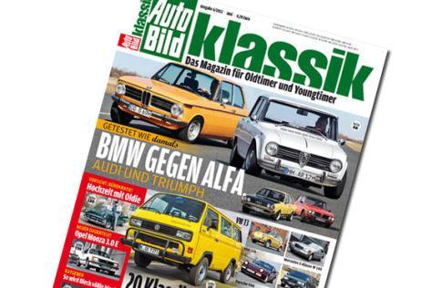 3 Auto Bild Klassic für 12,40 Euro + 15 Euro Tankgutschein