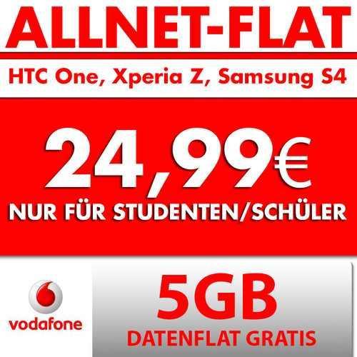 HTC One / S4 / xperia Z mit Red M für 24,99 Schüler und Junge Leute