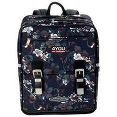 4You Schulrucksack Supersize Flowercheck