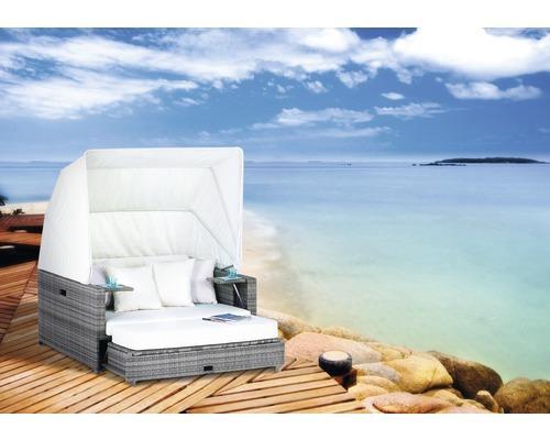 Lokal Worms Hornbach BEACH Lounge Strandkorb Südsee von 1299 Euro auf 699 Euro reduziert