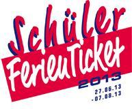 SchülerFerienTicket 2013 (Quer durchs Bundesland in den Ferien für nur 29,90 €)