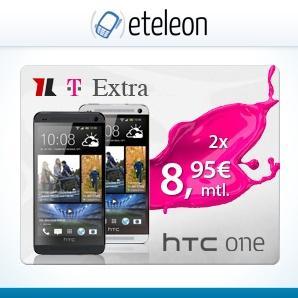 HTC ONE für 429,60€ (mit 2 Schubladenverträgen)