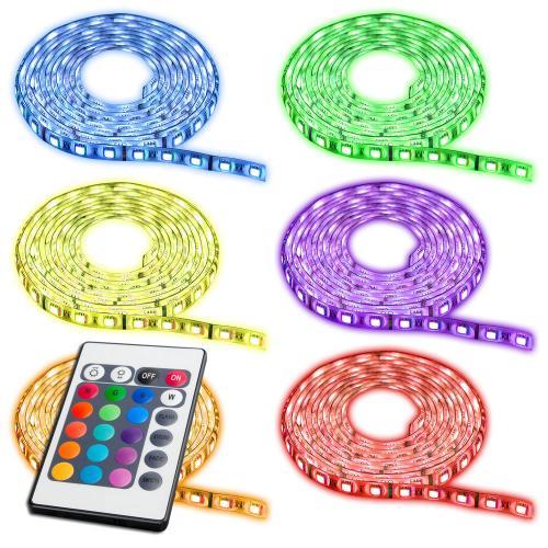 s`luce iLight RGB-LED-Strips 5m Komplettset 150 SMD Leds Stripes Farbwechsel