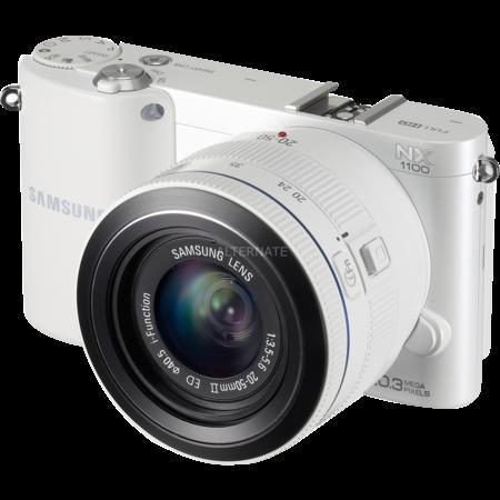 Digitalkamera Samsung NX1100 mit Objektiv 20 - 50 mm