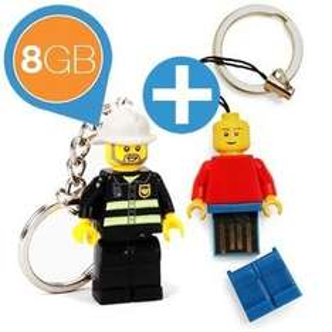 iBood Lego Usb-Stick 2 x 8Gb für 20,90 Euro inkl. Versand