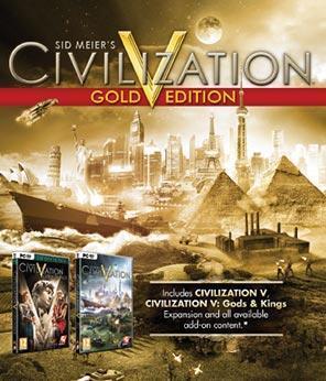 Sid Meier's Civilization V: Gold jetzt für 7,99€ bei GMG