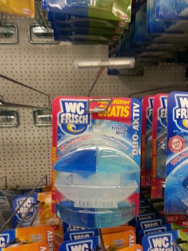 WC-Frisch Duft/Reiniger - Nachfüller kostenlos dabei