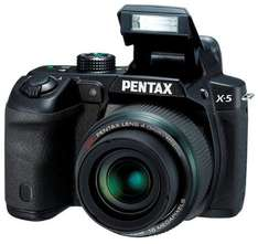 Pentax X-5 Bridge-Kamera für 163,30 € @Amazon.co.uk