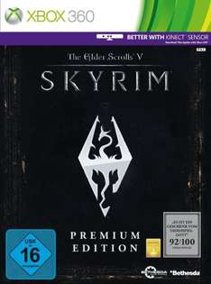 Skyrim Premium Edt. (Xbox 360) ab 14,08 € @ Amazon Warehousedeals