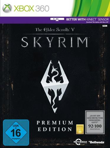 Skyrim Premium Edt. (Xbox 360) ab 14,08 € @ Amazon Warehousedeals