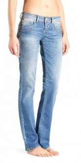 LTB Damenjeans Valentine Straight Fit argon wash oder Molly Super Slim sunset damaged wash für je 33,85€