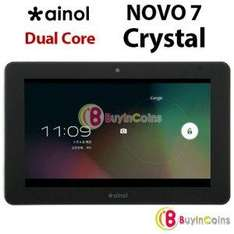 "[China @ buyincoins.com ] 7"" Ainol Novo 7 Crystal Android 4.1 Tablet 1,5 GHZ Dualcore CPU 1GB Ram 8 GB IPS Display 1024x600 für ca. 77,50 Euro"