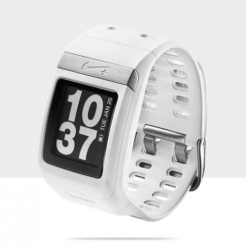 Nike Sportwatch GPS Sportuhr - weiß