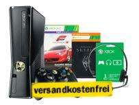 MICROSOFT Xbox 360 Slim 250GB + Forza Motorsport 4 + Skyrim für 169€ @ MediaMarkt Online