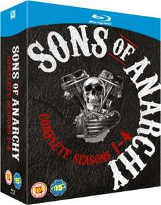 Sons of Anarchy - Seasons 1-4 [Blu-ray] für 35,25 € @zavvi