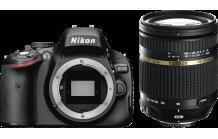 Nikon D 5100+ 18-270 Tamron Vr+ Tadche+ HDMI Kabel + UV Filter