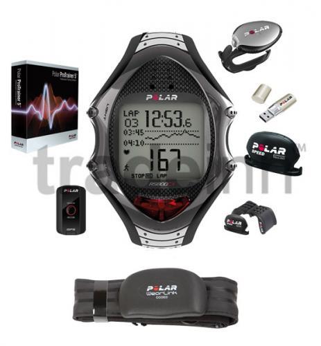 Polar RS800CX N Multi GPS G5 + Bike Sensor + s3 Laufsensor, Pulsuhr