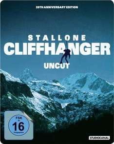 Universal Soldier & Cliffhanger - 20th Anniversary Edition [BluRay] Steelbook (Uncut) für je 12,99 € @ amazon.de