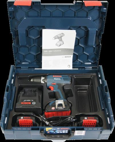Bosch GSR 18-2-Li Professional 3 x 1,3 Ah + L-Boxx für 159,90€ @ ZackZack