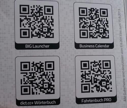 4 kostenlose Android Apps dank Androidmag - BIG Launcher, Business Calendar, dict.cc + Wörterbuch und Fahrtenbuch Pro