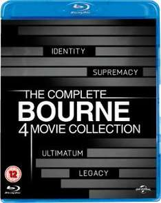 [Blu-ray Boxset] The Complete Bourne Movie Collection  (4 Blu-rays) für nur 17,59 EURO @ zavvi.com