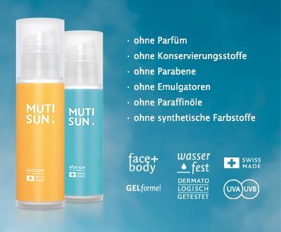 MUTISUN Hautpflege Creme Probe Gratis