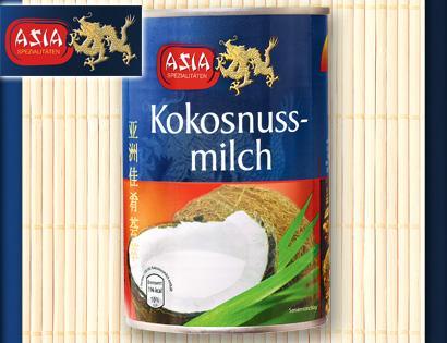 Kokosnussmilch bei Aldi Süd 0,79 statt ca. 2,00€