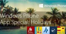 [Windows Phone] Holidays Special: aktionsweise kostenlose Apps (Langenscheidt, Clever tanken...)