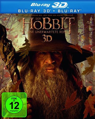 Der Hobbit - Eine unerwartete Reise 3D (+ Blu-ray) [Blu-ray 3D] // AMAZON =>19,99 Euro