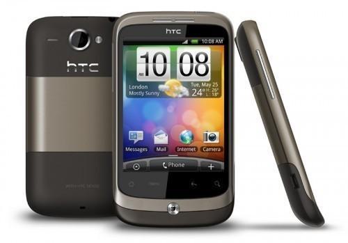 HTC Wildfire in metallic mocha für nur 76,99 EUR inkl. Versand